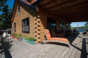 Private island getaway with log cabin in NS only $399,000