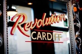 BAR STAFF AND GLASS COLLECTORS WANTED! JOIN THE REVOLUTION!