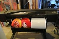 $1500.00 and U print your designs on a hp designjet 800ps