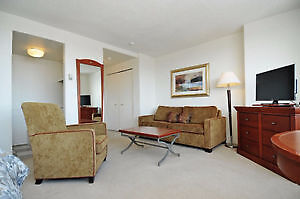 FULLY FURNISHED Bachelor Apt in Downtown Ottawa! - October 1st