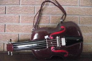 NEW Amliya Designer Violin Purse /Handbag