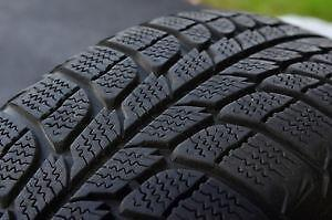 235/45R17Michelin Pilot Alpin Set of 2 Used winter tires 75%tread left Free Installation and Balance