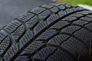 235/55R18Michelin Latitude Xice Set of 2 Used winter tires 75%tread left Free Installation and Balance