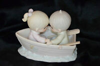 "Precious Moments Figurine-""Friends Never Drift Apart""-Only $15"