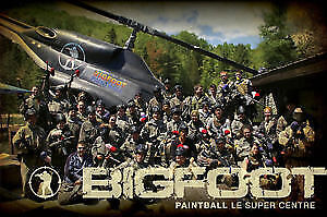 BIGFOOT PAINTBALL - FREE ENTRANCE TICKETS