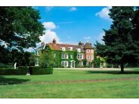 Live in Housekeeper to service country houses and hotels around the UK