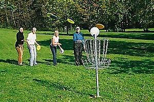 Portable Disk Golf and Disk Set - 9 holes