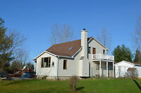 5 Acres, Open Concept, Private and 15 mins to Kanata