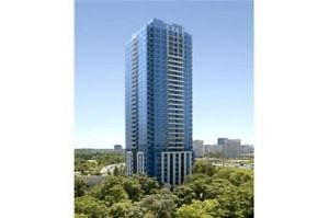 Move-in to Tridel with West view close to DVP, TTC & Future LRT