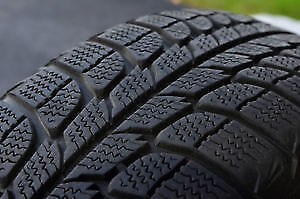 215/55R16 Marconi Ice 2 USED WINTER TIRES 85%TREAD LEFT