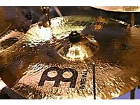 Meinl MB20 19 crash heavy - 3 hairline cracks that could be repaired, cash or swap