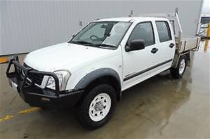 2004 holden rodeo turbo diesel dual cab low ks