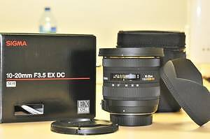 WANTED- SIGMA 10 -20MM LENS FOR CANON