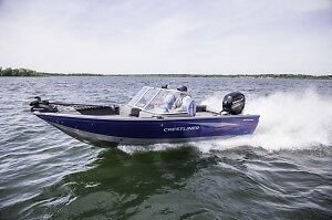 2016 Crestliner 1850 Fish Hawk/150 Merc Save $1,500