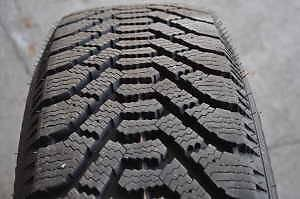 255/55R19 set of 2 Goodyear Winter Used (inst. bal.incl) 70% tread left