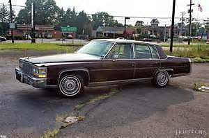 I am looking for a Cadillac Brougham parts car