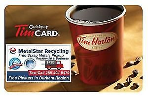 ★Free Tim Card★Free Scrap Metal Pickup Removal★