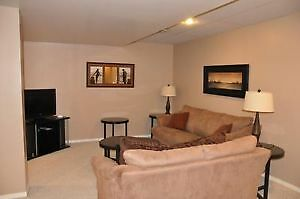 Cozy furnished 2 bedroom low level suite for rent by 37th St.W
