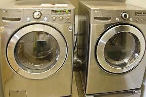 FRONT LOAD WASHERS & DRYERS 24'' &  27'' 1 YEAR WARRANTY & FREE DELIVERY