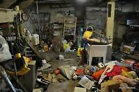 Basement clean up Junk removal you name it we can take