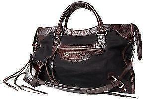 Balenciaga City Black Bags