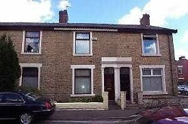 Darwen, Blackburn, Accrington, Chorley, Preston, Beautiful unfurn 2 bed house. D. glaz, C. Heating