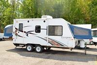 Tent Trailers and Hybrid Campers FOR RENT