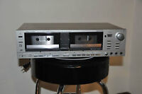REALISTIC  CASSETTE DECK-2 HEADS DOUBLE  PLAYER
