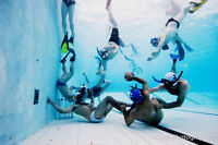 Do you like to swim? Try Underwater RUGBY