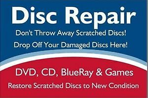 Games Scratched? Repair While You Wait....