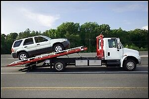 towing tow truck flatbed