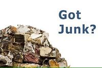 Junk removal. Call for a free quote.