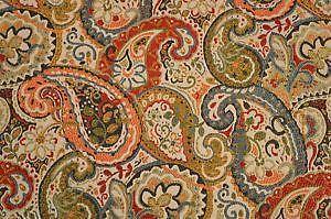 paisley fabric ebay