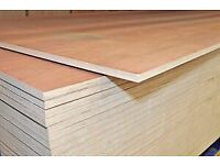 Ply sheets Hardwood Faced (8x4)