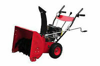 SNOW  BLOWERS  6.5 HP BRAND NEW IN BOX NOW ONLY $399.99