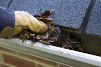 Eaves Trough Repair and Cleaning