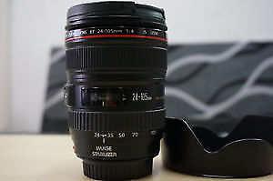 Canon EF 24-105mm f/4.0L IS USM Zoom Lens *Mint Condition