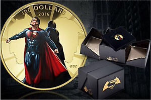 2016 $100 Gold Coin Batman v Superman: Dawn of Justice IN STOCK