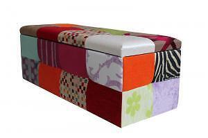 Ba l tapizado en tela o polipiel y a medida muebles for Loquo muebles