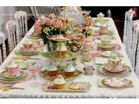 OCCASIONS FINER CHINA HIRE, WEDDINGS, PARTIES, BABY SHOWERS, HEN NIGHTS, FAMILY GET-TOGETHERS