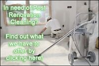 Post Construction/Post Renovation Clean-up! Ottawa's Best