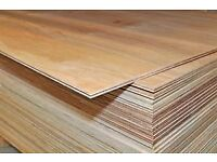 WBP solid core hardwood ply 8'x4' sheets (Weather & Boil proof) Various thicknesses