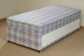 Brand New Single Storage Divan Store Bed set FREE delivery 2 Available
