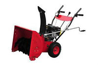 6.5 SNOW BLOWER 2 STAGE WITH ELECTRIC START 1-800-709-6095