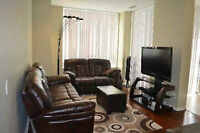 Two Bed Condo with 2 parking spots & one locker in RICHMOND HILL