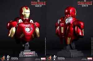 HOT TOYS AVENGERS MARK 7, 1/4 SCALE BUST WITH LIGHTS