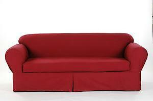 Charming 2 Piece Sofa Slipcovers Twill