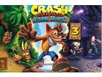 Wanted..... Crash Bandicoot for ps4