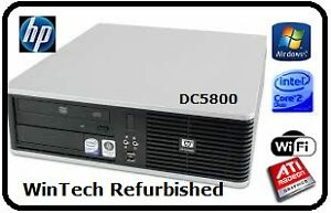 HP DC5800 D/Core 8GB Memory Desktop Kirribilli North Sydney Area Preview