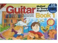 Guitar book 1 BEGINNERS unused
